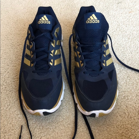 pedestal amount of sales clock  adidas Shoes | Mens Blue And Gold Tennis | Poshmark